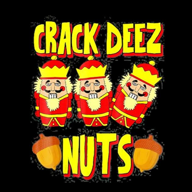 Crack deez nuts nutcracker ugly christmas jumper preview