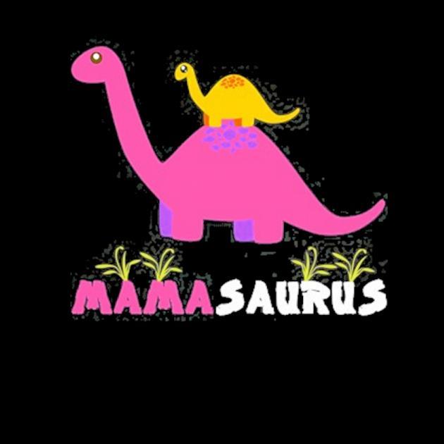 Mamasaurus funny dinosaur mama saurus mother's day preview
