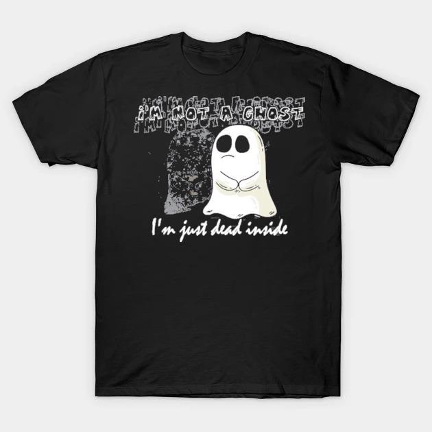 Sad I'm just dead inside halloween costume shirt