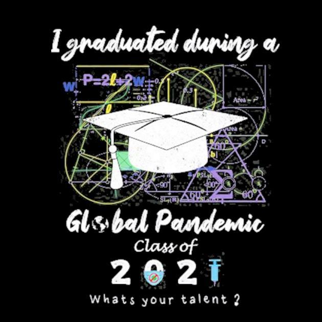 Senior college high school global pandemic graduation 2021 ver2 preview